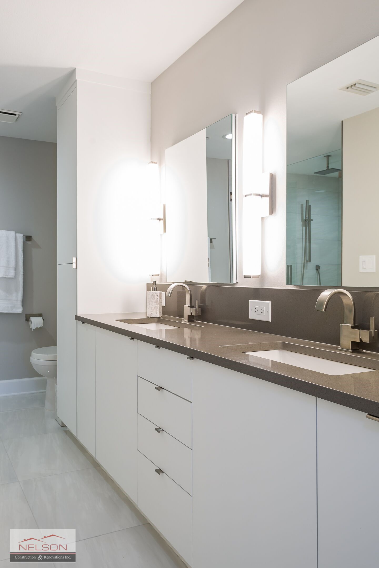 Gorgeous Master Bathroom In This Modern Sand Key Beach Condo Full