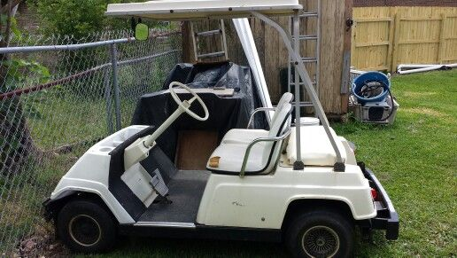 My 1983 Yamaha G1 2 stroke. This is what she looks like now. | Golf  Stroke Yamaha G Golf Carts on modified golf carts, fast golf carts, super golf carts,