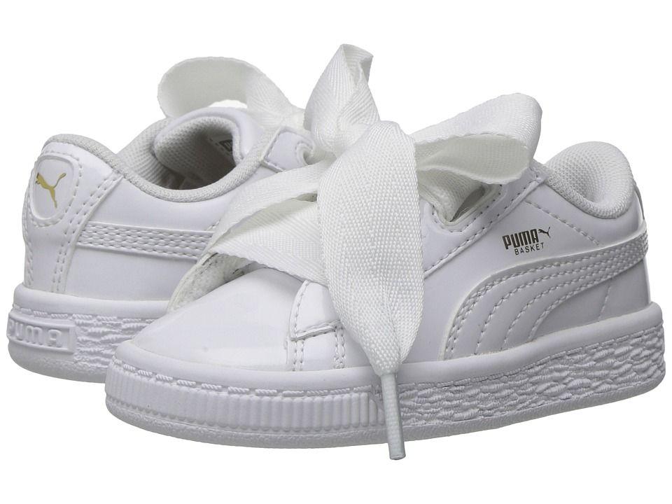 all white pumas kids