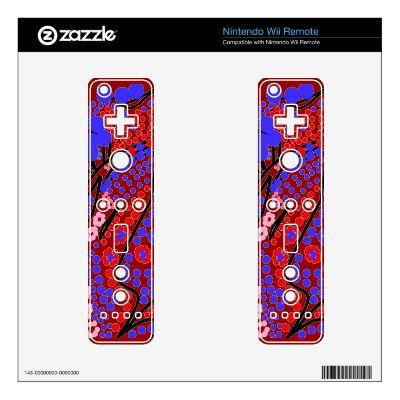 Bright colored Abstract on games controllers by www.zazzle.co./artistjandavies*