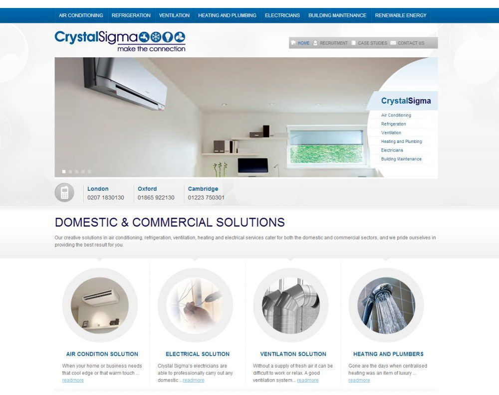 Webdesign And Development By Vital Concept Ltd London Www Crystalsigma Com Wordpress Web Design Web Design Design Development