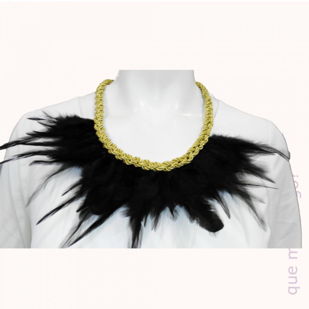 Collar Fiesta Dorado