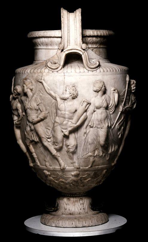 The Townley Vase Roman Marble 2ndcentury Ce British Museum Uk