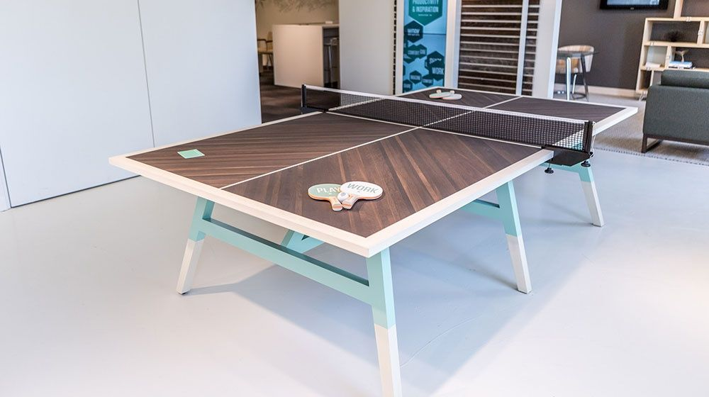 Table De Ping Pong Woolsey Par Le Designer Sean Woolsey | Design Table And  Woods