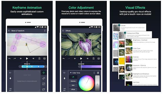 Alight Motion Video And Animation Editor Efek Visual Video Aplikasi