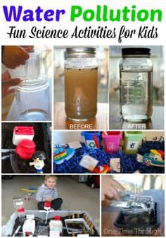 Water Pollution for Kids. Great resource for science lessons! Activities include instructions to make a homemade water filter and a model water treatment plant