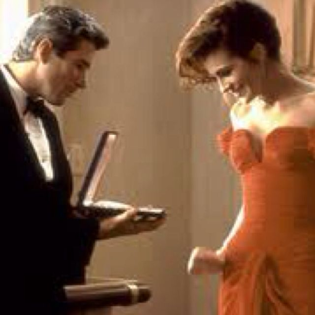 Pretty Woman with Richard Gere and Julia Roberts | Pretty woman movie. Movie couples. Pretty woman