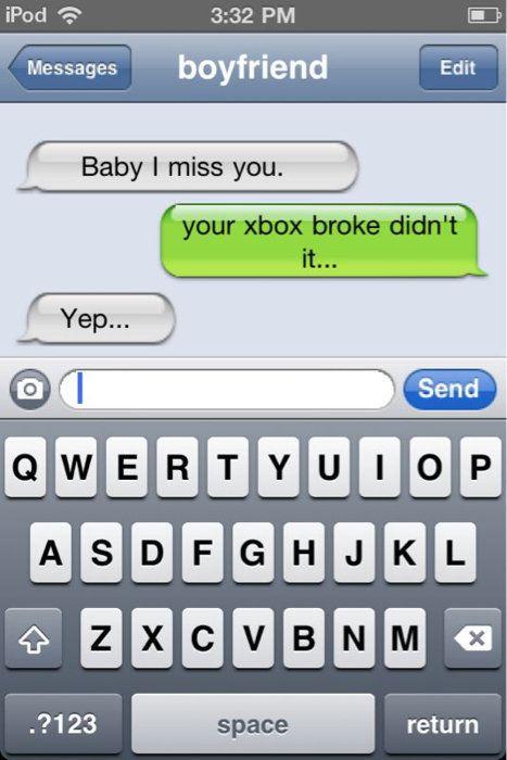 Sjove dating beskeder
