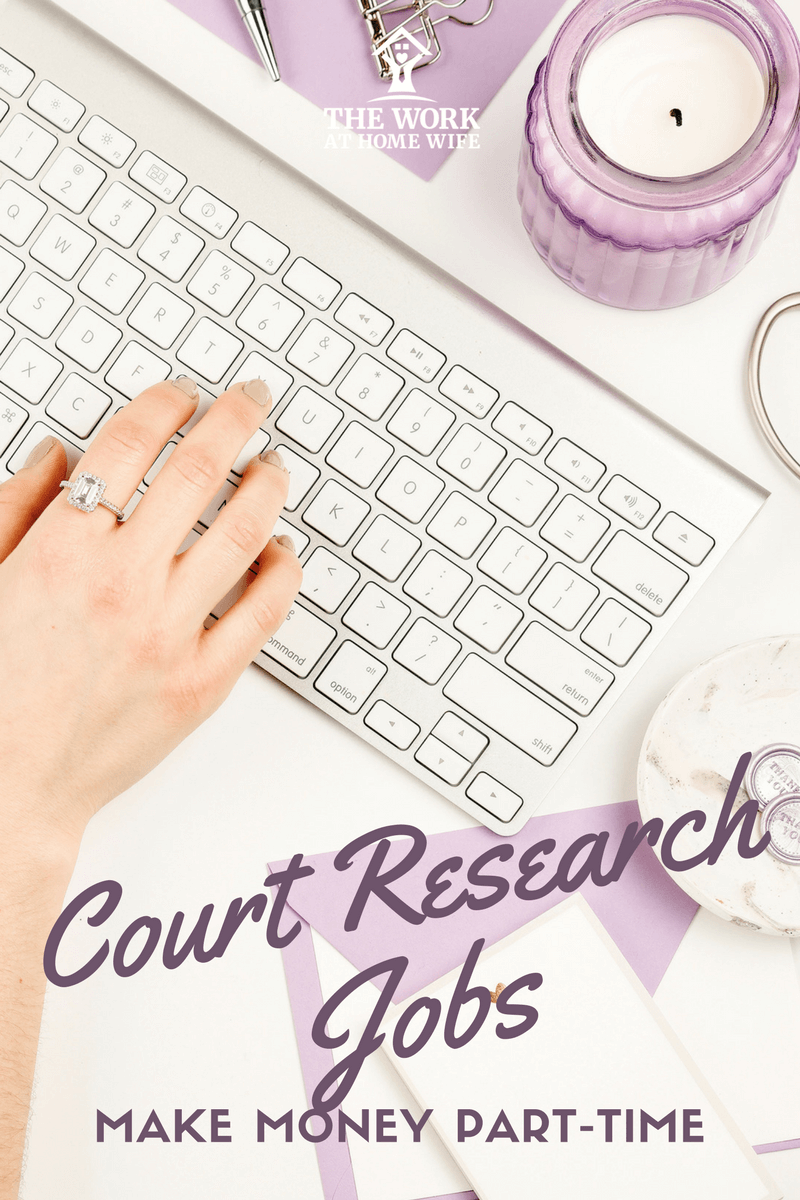 How Do I Work from Home as a Court Researcher? | Job offer