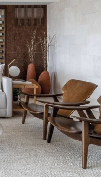 Pair of Diz armchairs designed by Sergio Rodrigues available at ESPASSO. Midcentury modern and contemporary Brazilian design.