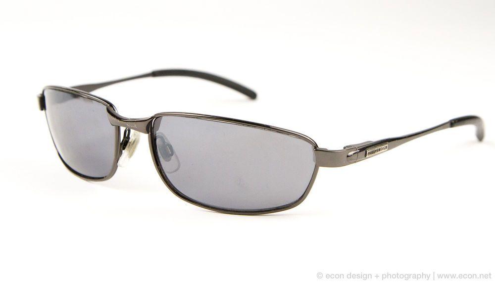 3f36ab001f PANAMA JACK Gunmetal Gray Full Rim Rectangular Metal Men s Sunglasses   PanamaJack  FullRim
