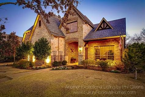 Home For Sale In Rainbow Lakes Estates Rockwall Texas 525 000