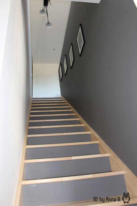 L\'escalier de deux couleurs | Idée déco escalier, Mobilier ...