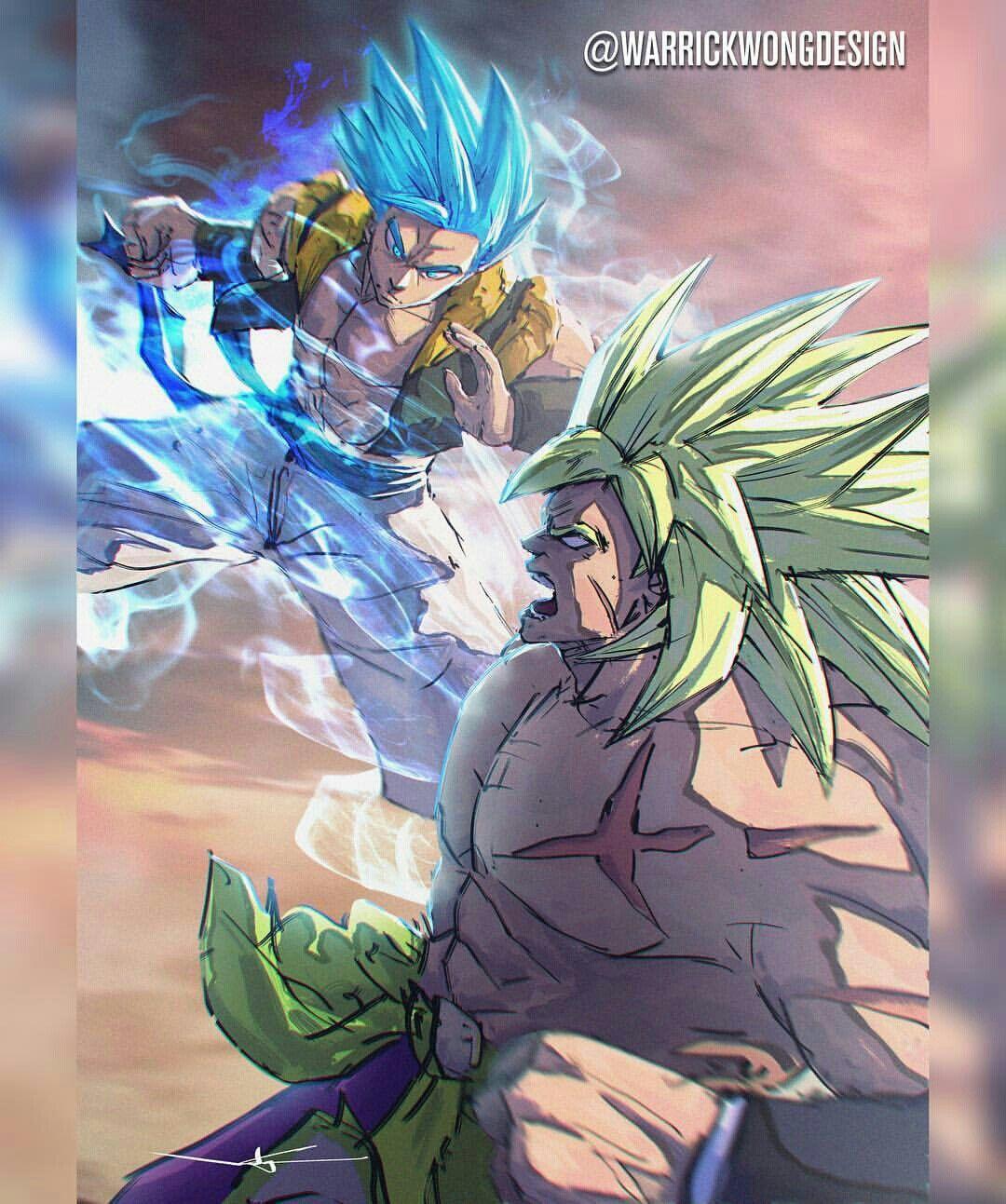 Gogeta Vs Broly Dragon Ball Artwork Dragon Ball Art Dragon Ball Wallpapers