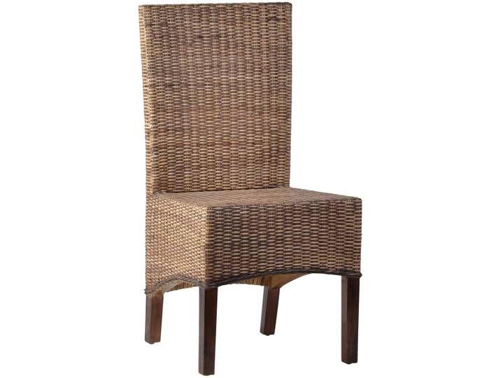 Wunderschon Verarbeiteter Stuhl Aus Rattan Geflochten Aufgebaut Auf Einem Massiven Holzgestell Passendes Sit In 2020 Haus Deko Esszimmerstuhle Korbstuhle
