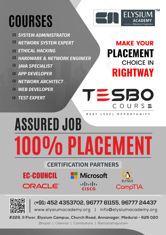 TESBO | Elysium Academy | Training schedule, Skill training