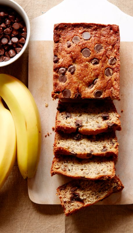 Chocolate Chip Banana Bread From Www Whatsgabycooking Com