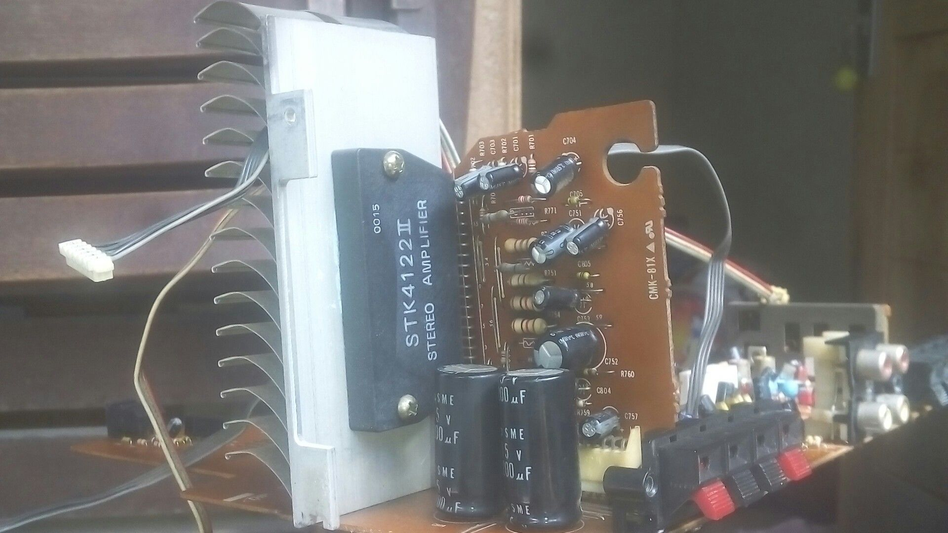 Stk4122 Markii Power Amp Stereo 2 X 15 Rms Diy Boombox Pinterest Wiring Diagram Audio