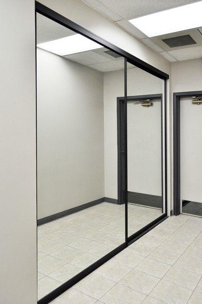 Mirrored Creative Sliding Doors Of Chicago Mirrored Closet Doors