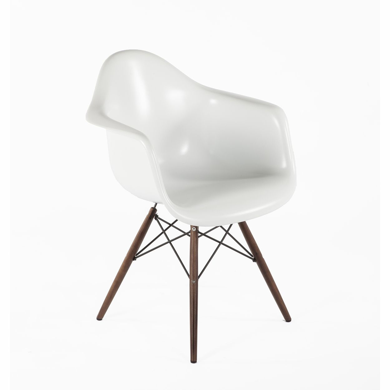 DAW Fiberglass Arm Chair - Matte - White | Have a Seat | Pinterest ...