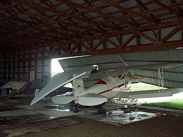 Small Plane Hangar Crash Central Region Quad Cities Fighter Jets