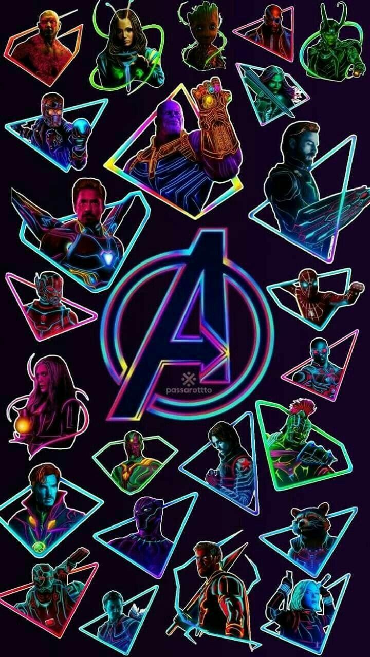 Avengers phone wallpaper