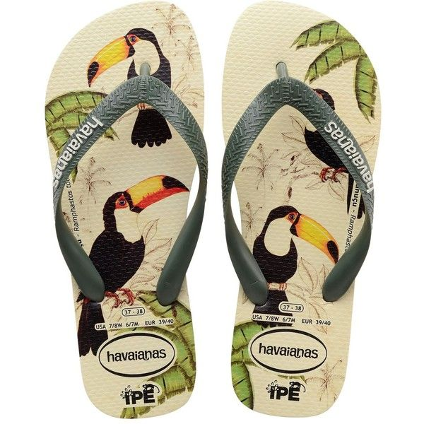 9981c3b123e73 Havaianas Women Amazonia Rubber Flip Flops (304.270 IDR) ❤ liked on Polyvore  featuring shoes