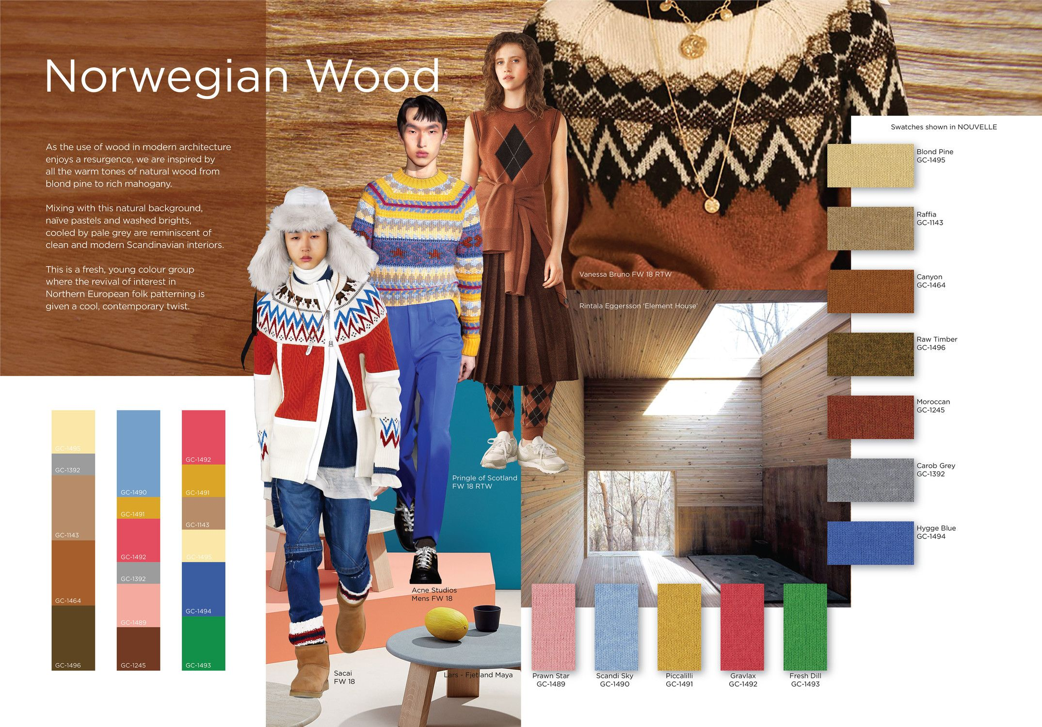 Cultural Trends 2020.3 Yarn Color Trends Of Fall Winter 2019 2020 Linkedin In