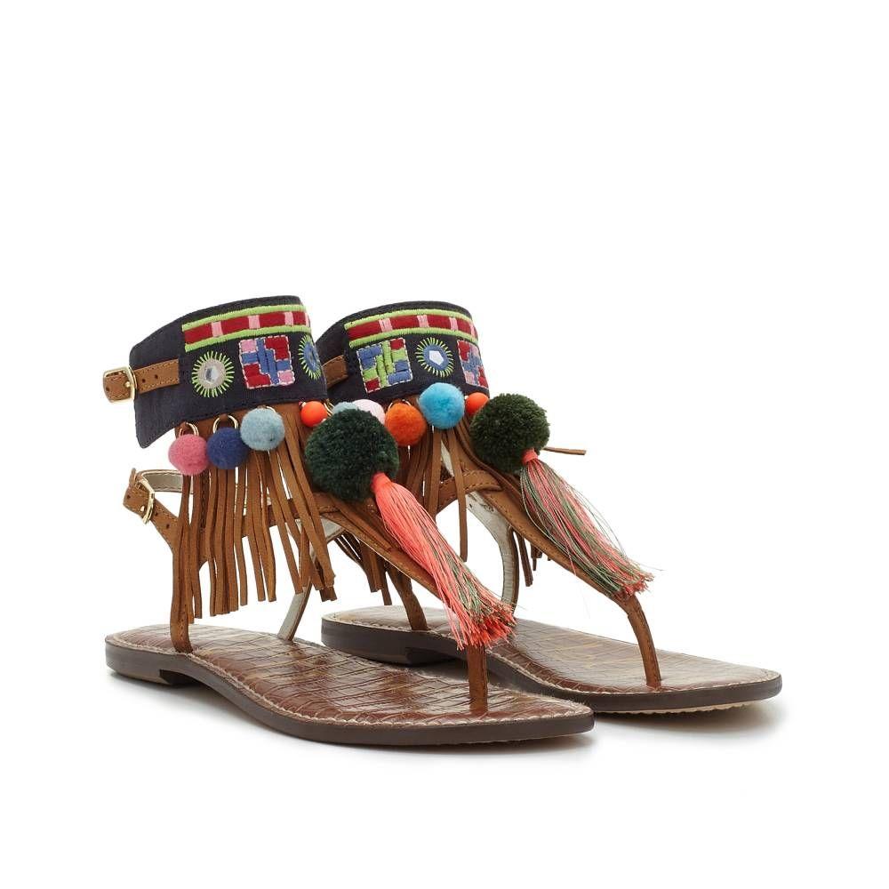 37499ad5c9937 Gere Tassel Sandal - Sandals
