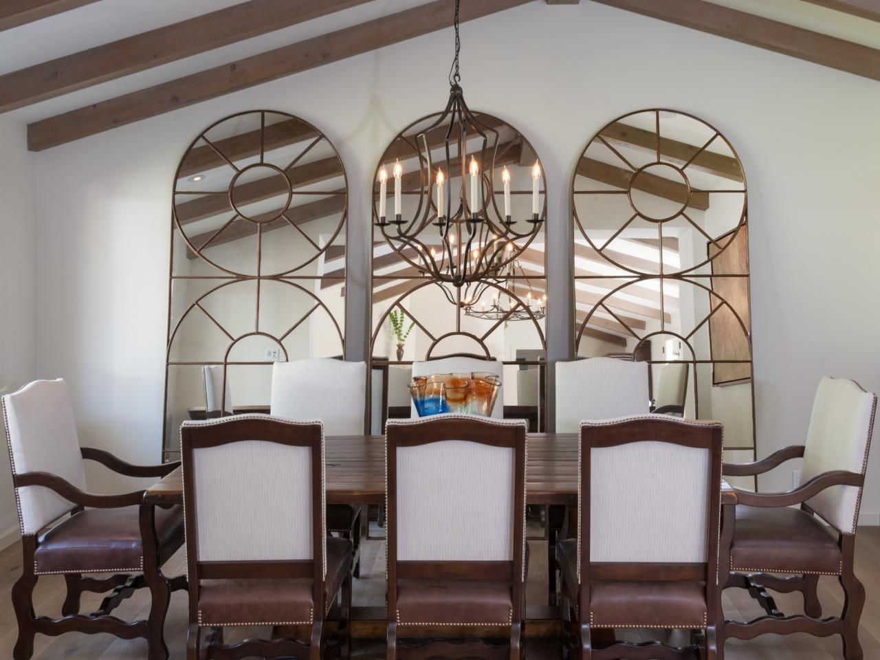 Mediterranean Dining Room Photos Mirror Dining Room Transitional Dining Room Dinning Room Wall Decor