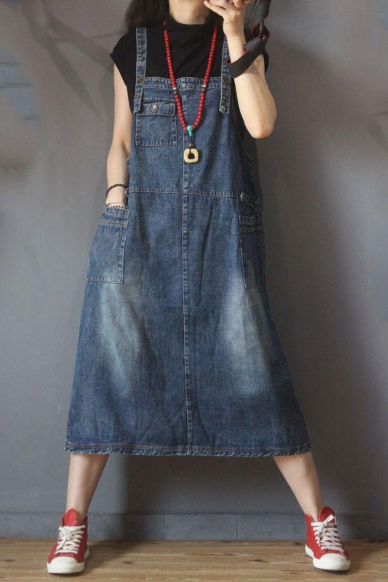 #dress #overall #jumperdress #denim