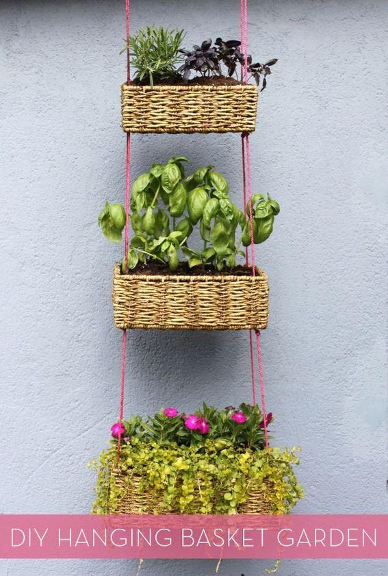 Make It: DIY Hanging Planter Garden