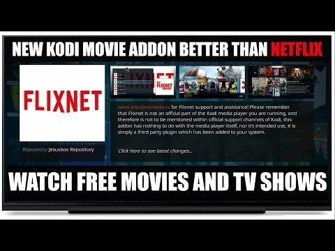 FlixNet The New Free Netflix Kodi Addon Free Movies & TV Shows For