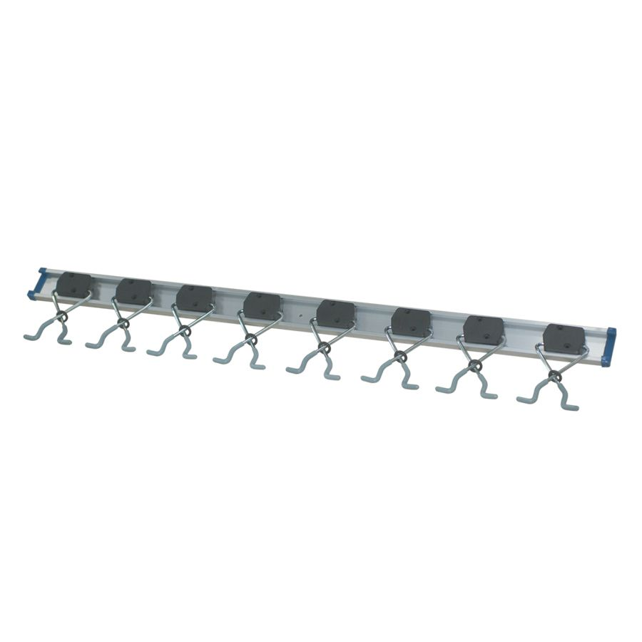 Blue Hawk Gray Steel Multi Tool Hanger The Options For Garage Implement Holders Are Almost Endless This Is One Example Hold Tool Hangers Multitool Hanger