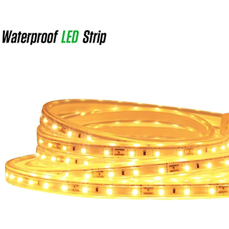 Luxjet 12v 9 9ft Led Rope Lights Under Cabinet Strip Light Kit Ip65 Waterproof 2835smd 180leds 3000k Led Rope Lights Lighting Ceiling Fans Closet Lighting