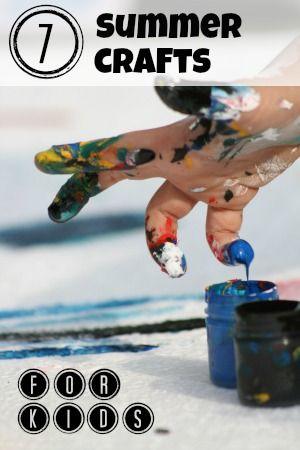 7 Summer Crafts for Kids