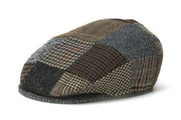 Vintage Irish Patchwork Tweed Cap. Made in Ireland. Please note ... 88db6fb344c4