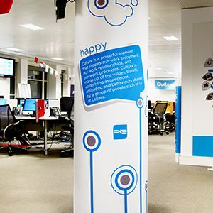 London Office Branding - http://www.vinylimpression.co.uk/pages ...