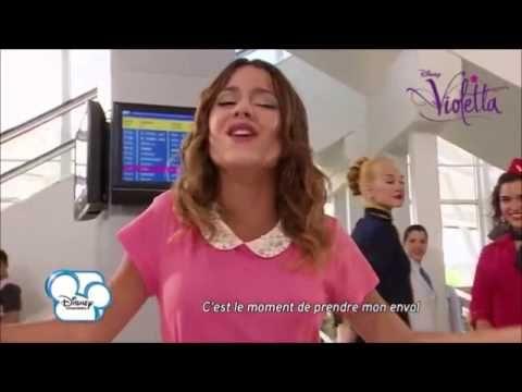 Premi re chanson de la saison 2 de violetta youtube tini pinterest chanson - Musique violetta saison 2 ...