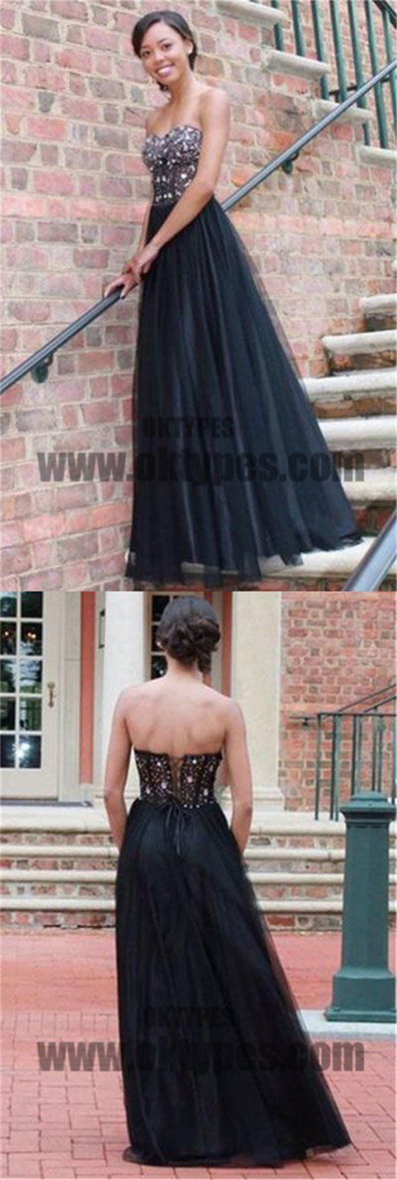 Long top beaded tulle prom dresses backless lace up prom dresses