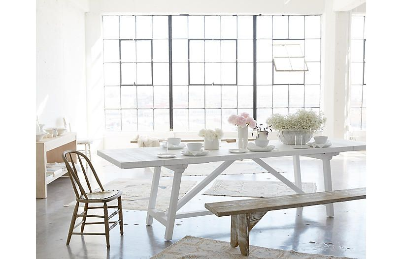 Scout 114 Dining Table White 1 895 00 Dining Table