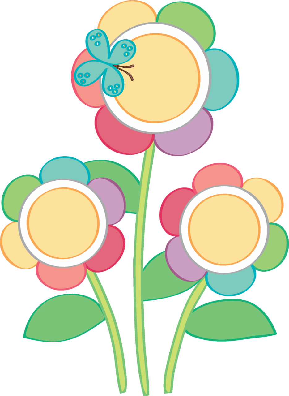 Birthday Flower Clipart Vector And Clip Art Inspiration