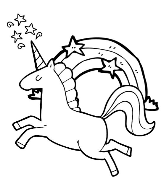 Free Printable Colouring Sheets Unicorns Print Download Unicorn Free  Printable C… Unicorn Coloring Pages, Birthday Coloring Pages, Free  Printable Coloring Pages