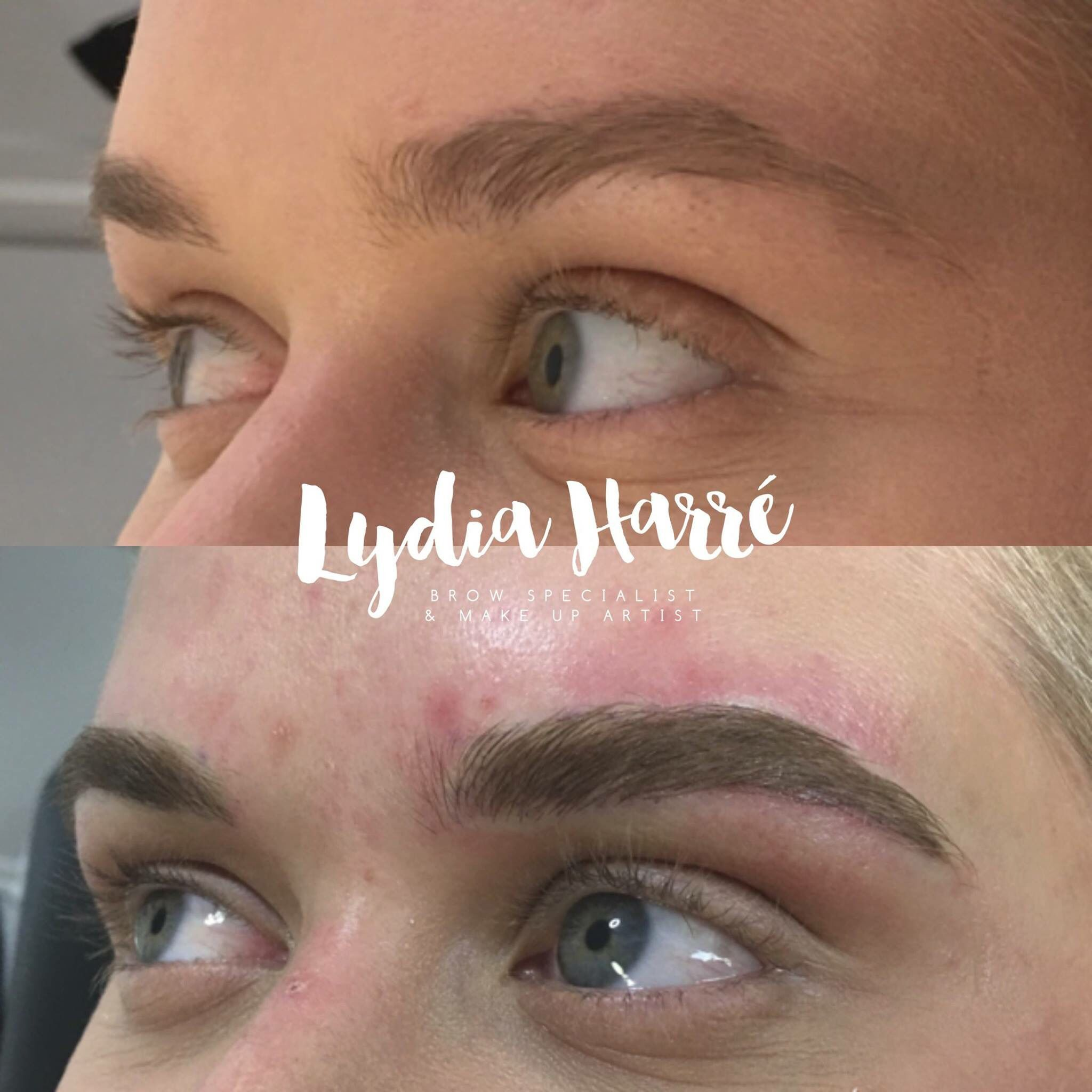 Feather Touch Brow Tattoo / Microblading by Lydia Harré