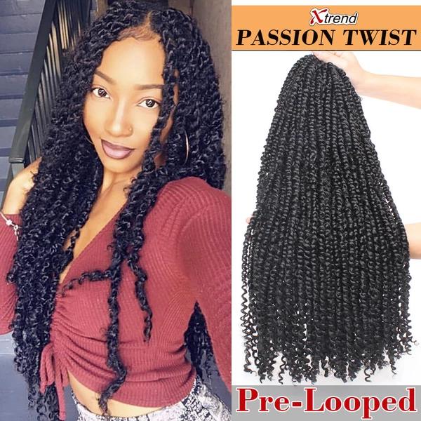 22inch Pre Looped Pion Twist Hair 15