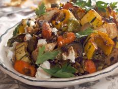 Roasted Vegetables Salad Recipe Food Network Recipes Roasted Vegetables Roasted Vegetable Salad