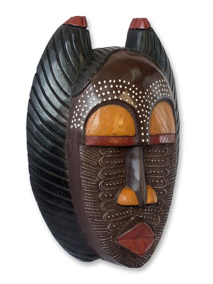 A Good Mother Ghanaian Mask by NOVICA