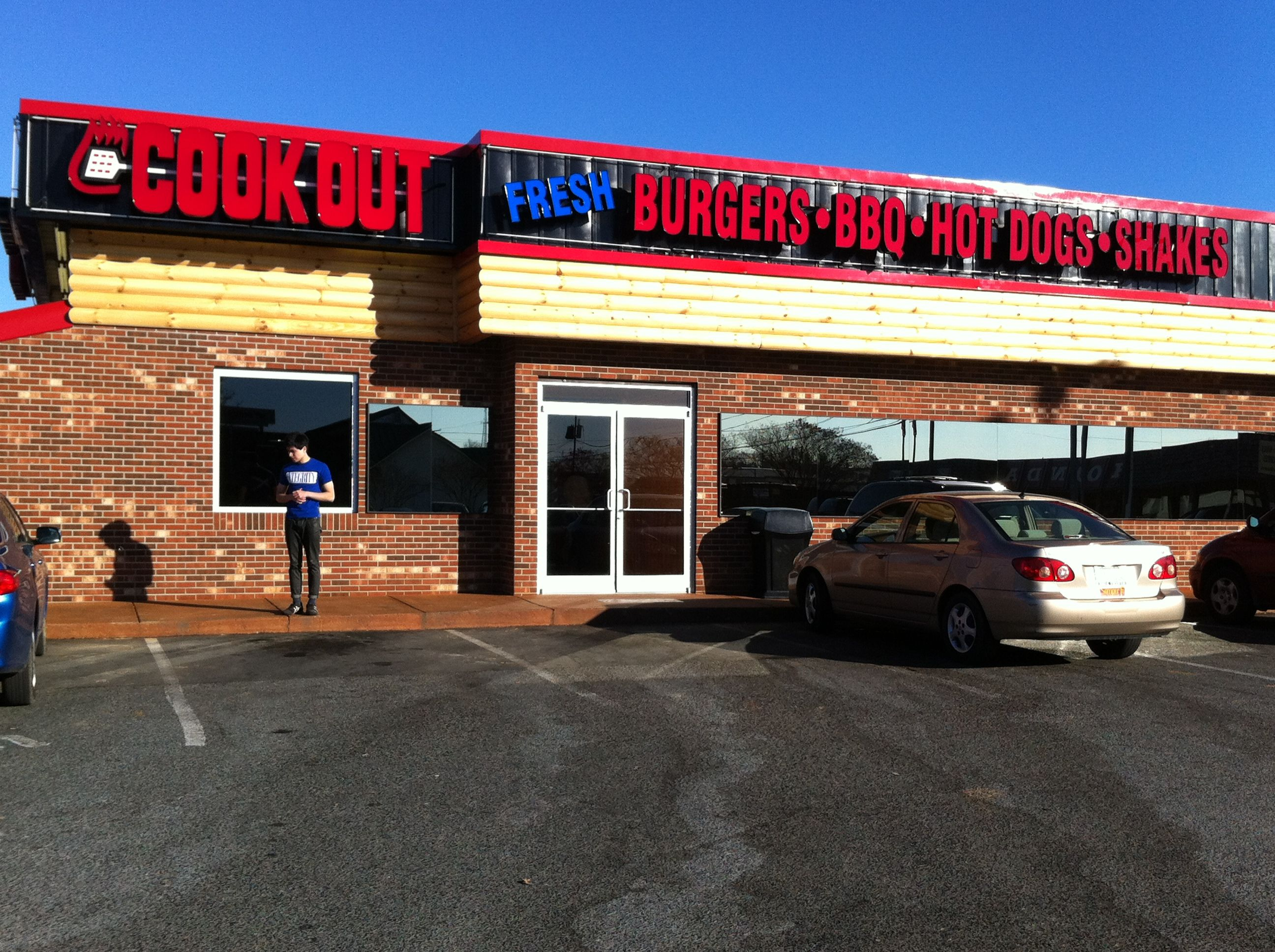 cook out very famous fast food restaurant chain in nc the