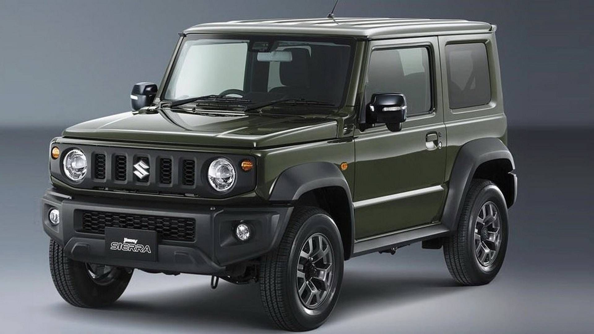 2019 Suzuki Jimny Official Photos Reveal Cute And Boxy Off Roader New Suzuki Jimny Suzuki Jimny Jimny 4x4