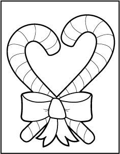 Christmas Coloring Pages For Pre K